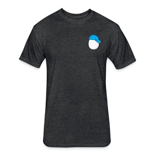 Egg - Fitted Cotton/Poly T-Shirt by Next Level