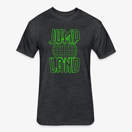 Jumpland Parkour Tee - Fitted Cotton/Poly T-Shirt by Next Level