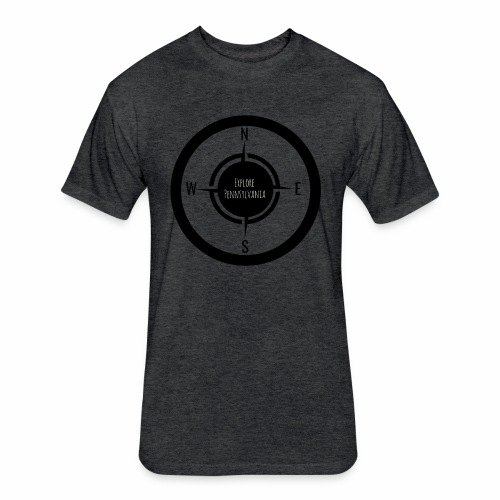 Explore Pennsylvania - Fitted Cotton/Poly T-Shirt by Next Level