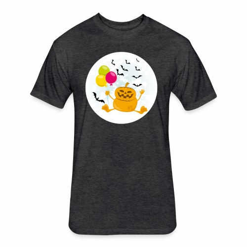 Scary & Funny Halloween Tee - For kids and adults - Fitted Cotton/Poly T-Shirt by Next Level