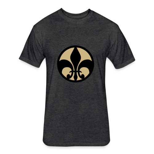 Jawhz Logo Design - Fitted Cotton/Poly T-Shirt by Next Level