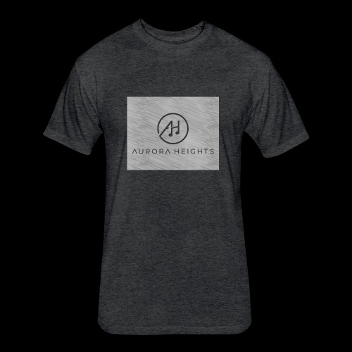 Aurora Heights - Fitted Cotton/Poly T-Shirt by Next Level