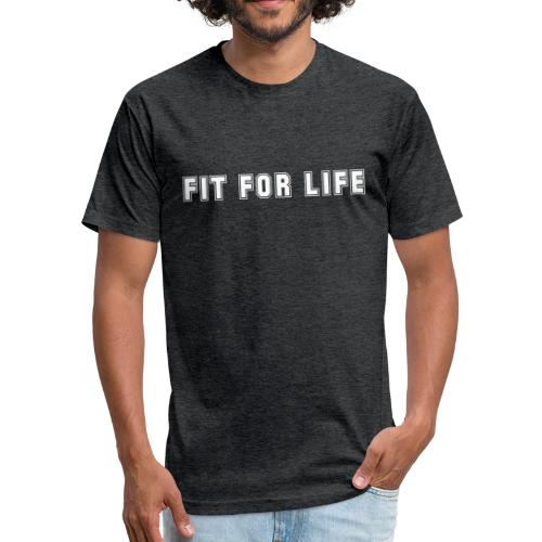 fit for life - Fitted Cotton/Poly T-Shirt by Next Level