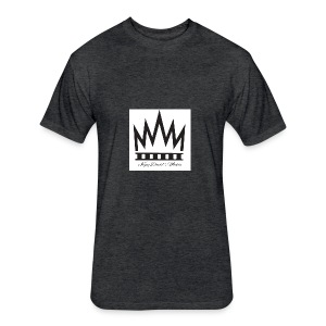 King David - Fitted Cotton/Poly T-Shirt by Next Level