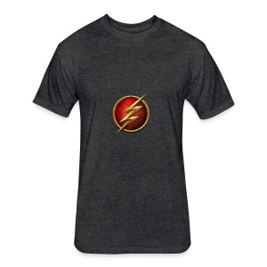 the_flash_logo_by_tremretr-d8uy5gu - Fitted Cotton/Poly T-Shirt by Next Level