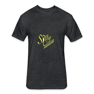 S.illyApparel Goldchild - Fitted Cotton/Poly T-Shirt by Next Level