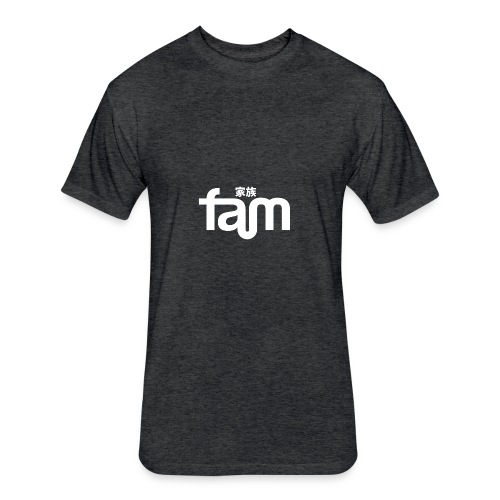 Fam Official Brand - Fitted Cotton/Poly T-Shirt by Next Level