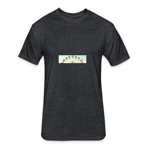 header_image_cream - Fitted Cotton/Poly T-Shirt by Next Level