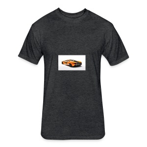 ChillBrosGaming Chill Like This Car - Fitted Cotton/Poly T-Shirt by Next Level