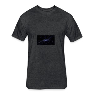 Nc Bassin Tv - Fitted Cotton/Poly T-Shirt by Next Level
