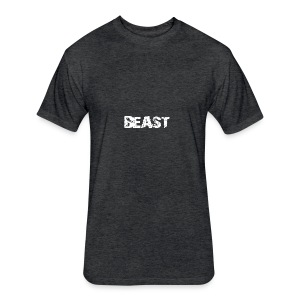 beast tee - Fitted Cotton/Poly T-Shirt by Next Level