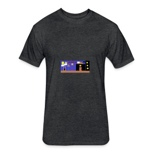 Team Space Thaddeus - Fitted Cotton/Poly T-Shirt by Next Level