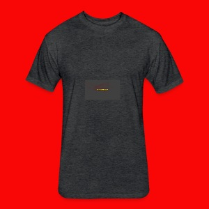 BladeSwinger TV Men - Fitted Cotton/Poly T-Shirt by Next Level