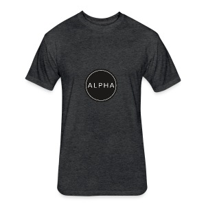 alpha team fitness - Fitted Cotton/Poly T-Shirt by Next Level