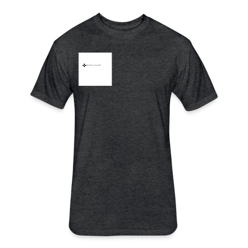 Clothing - Fitted Cotton/Poly T-Shirt by Next Level