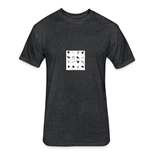 horse tack shirt - Fitted Cotton/Poly T-Shirt by Next Level
