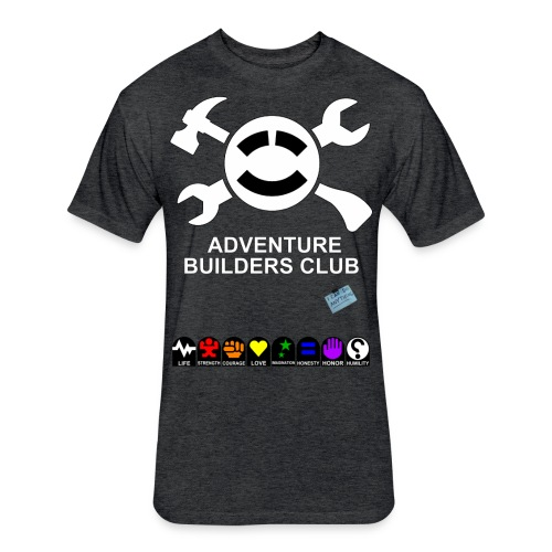 Adventure Builders Club - Fitted Cotton/Poly T-Shirt by Next Level