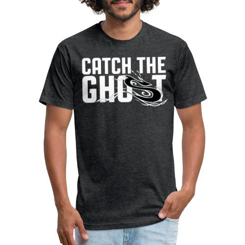 Catch The Ghost - Black Shifter - Fitted Cotton/Poly T-Shirt by Next Level