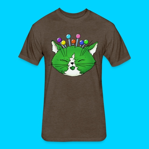 Fantastic Contraption III (no text) - Fitted Cotton/Poly T-Shirt by Next Level