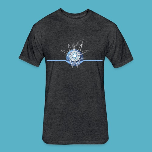 Blue Sun - Fitted Cotton/Poly T-Shirt by Next Level