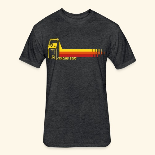 Racing2000 - Fitted Cotton/Poly T-Shirt by Next Level