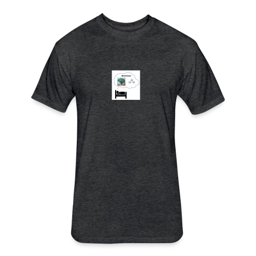 Sleep Neuralizer Bubble - Fitted Cotton/Poly T-Shirt by Next Level