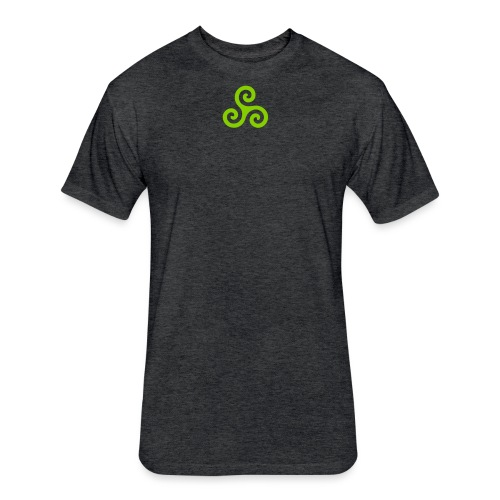 BDB1 Symbol - Fitted Cotton/Poly T-Shirt by Next Level