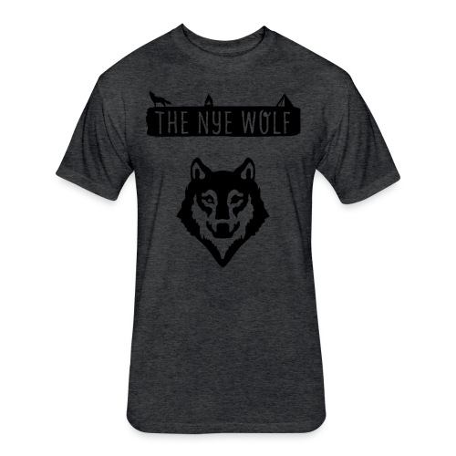 The Nye Wolf - Fitted Cotton/Poly T-Shirt by Next Level