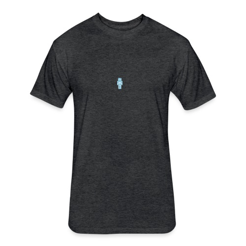 Diamond Steve - Fitted Cotton/Poly T-Shirt by Next Level