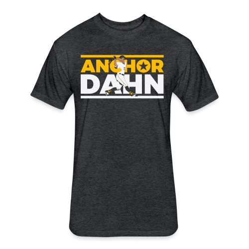 Anchor Dahn - Fitted Cotton/Poly T-Shirt by Next Level