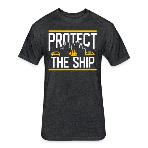 protect - Fitted Cotton/Poly T-Shirt by Next Level