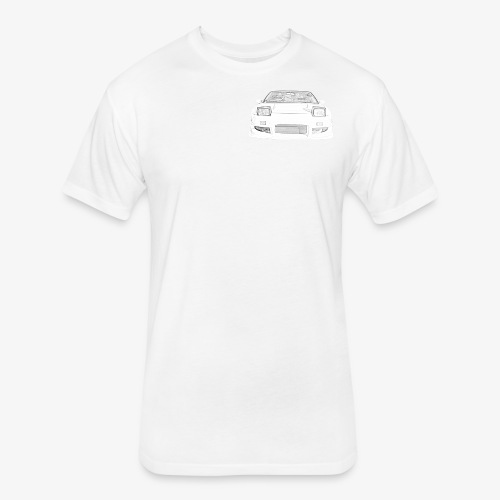 180sx skeched - Fitted Cotton/Poly T-Shirt by Next Level