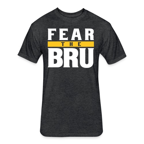 Fear the Bru - Fitted Cotton/Poly T-Shirt by Next Level