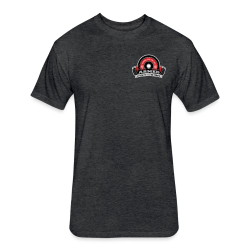 Armed Strength Conditioning cv 1 png - Fitted Cotton/Poly T-Shirt by Next Level