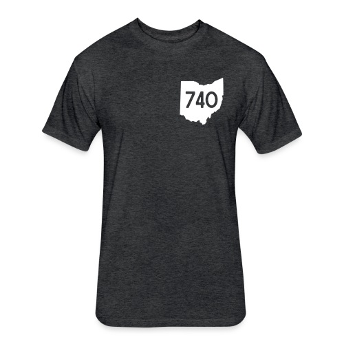 740 - Fitted Cotton/Poly T-Shirt by Next Level