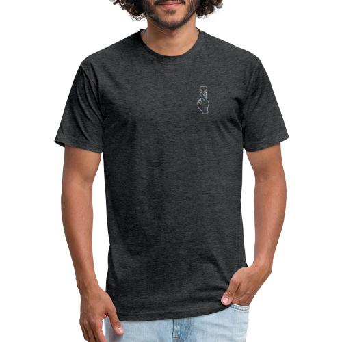 just like that rainbow edition - Fitted Cotton/Poly T-Shirt by Next Level