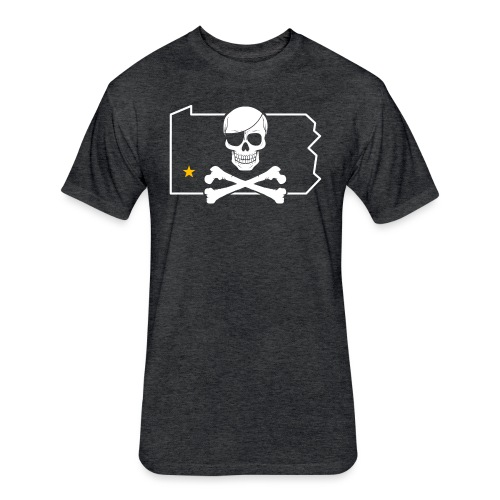 Bones PA - Fitted Cotton/Poly T-Shirt by Next Level