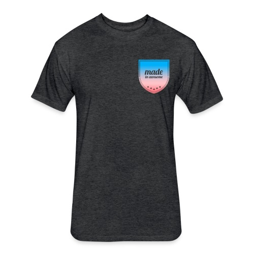 Made in Awesome - Fitted Cotton/Poly T-Shirt by Next Level