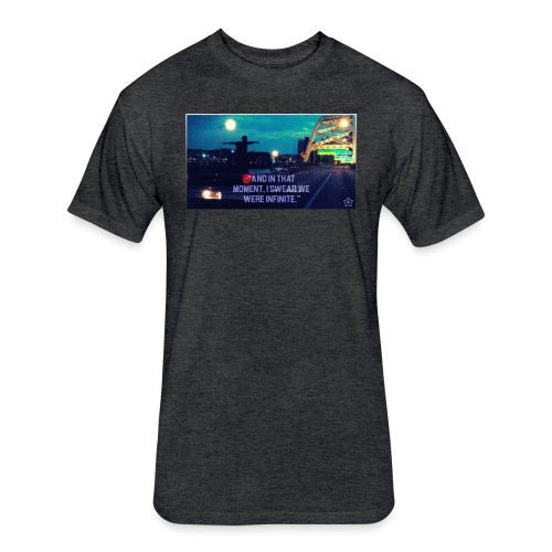 Infinite png - Fitted Cotton/Poly T-Shirt by Next Level