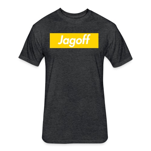 JagSup - Fitted Cotton/Poly T-Shirt by Next Level