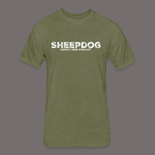 Animal Mind Podcast - Sheepdog - Fitted Cotton/Poly T-Shirt by Next Level