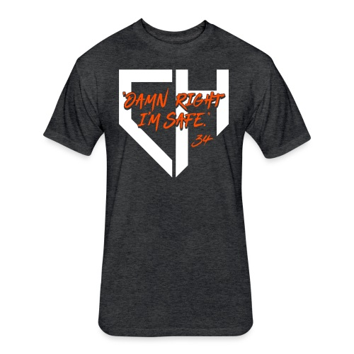 Mets_DRIS - Fitted Cotton/Poly T-Shirt by Next Level