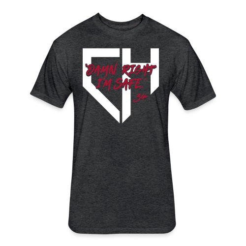 Braves_DRIS - Fitted Cotton/Poly T-Shirt by Next Level