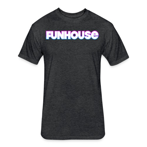 Funhouse Family Logo - Fitted Cotton/Poly T-Shirt by Next Level