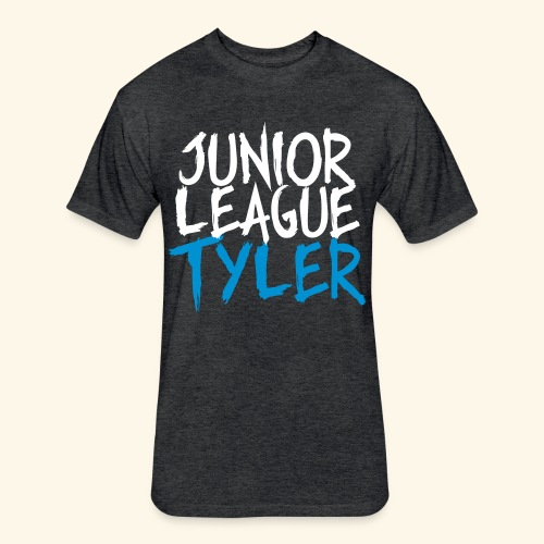 JLT_Grunge_Vector - Fitted Cotton/Poly T-Shirt by Next Level