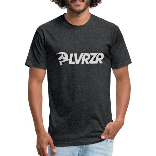 PLVRZR 3D BRAND LOGOTYPE PLAIN - Fitted Cotton/Poly T-Shirt by Next Level