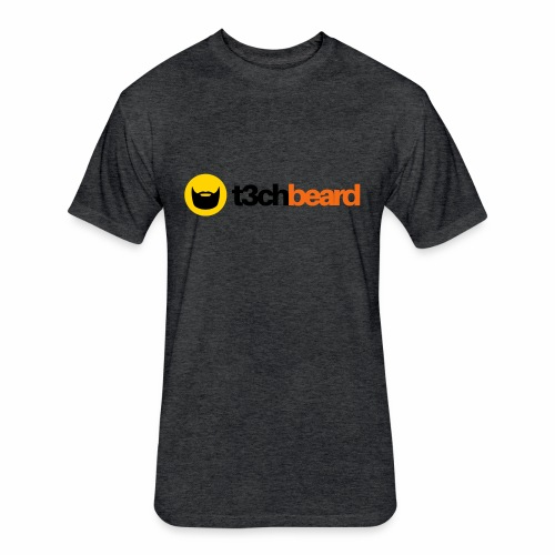 t3chBeard - Fitted Cotton/Poly T-Shirt by Next Level