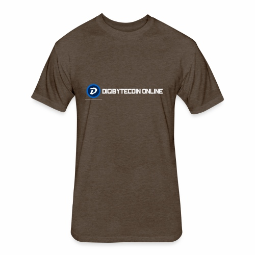 Digibyte online light - Fitted Cotton/Poly T-Shirt by Next Level