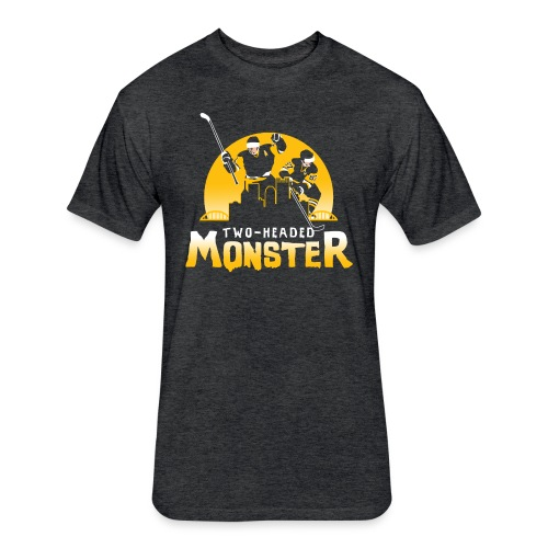Two-Headed Monster - Fitted Cotton/Poly T-Shirt by Next Level