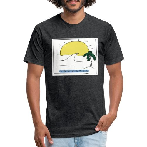 Surf's up - Fitted Cotton/Poly T-Shirt by Next Level